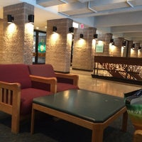 Photo taken at Hillwood Commons - LIU Post by Erik A. on 12/14/2013