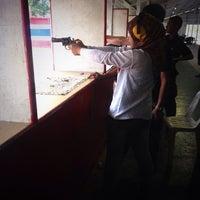 Photo taken at Patong Shooting Range by Embun M. on 1/20/2014