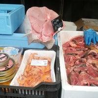 Photo taken at Budaörsi Halpiac - The Fishmonger by Áron M. on 12/22/2012