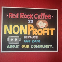 Photo taken at Red Rock Coffee by Juca on 11/15/2012