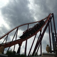 Photo taken at Six Flags Great America by JJ K. on 7/25/2013