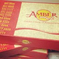 Photo taken at Amber Golden Chain of Restaurants by Richelle Anne F. on 7/19/2014