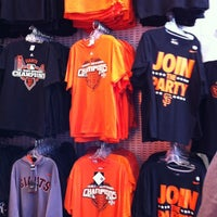 Photo taken at Giants Dugout Store by Phillip K. on 10/23/2012