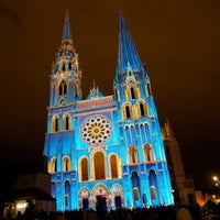 Photo taken at Cathedral Basilica of Our Lady by Chartres T. on 2/13/2013