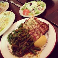 Photo taken at Steve's Greek Cuisine by Gloria C. on 12/3/2012