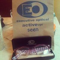 Photo taken at Executive Optical by rain A. on 2/6/2013
