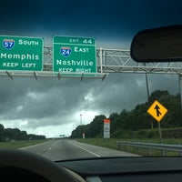 Photo taken at I-57/I-24 Split by Red B. on 8/19/2016