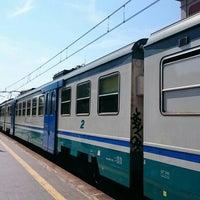 Photo taken at Stazione di Pompei by Nevzat Y. on 7/4/2015