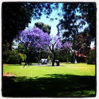 Photo taken at Unley Soldier's Memorial Gardens by Luvmylatte on 11/28/2012