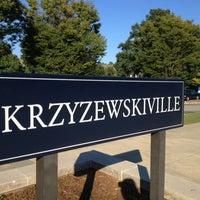 Photo taken at Krzyzewskiville by Jerry G. on 9/14/2013