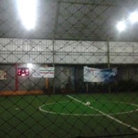 Photo taken at Galaxy Futsal Center by Fahri F. on 11/30/2012