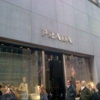 Photo taken at Prada by Moni on 12/20/2012