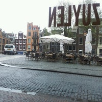 Photo taken at Café Van Zuylen by Ro L. on 4/19/2013