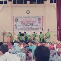 Photo taken at SMK Bandar Setia Alam by Sam M. on 8/24/2014