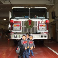 Photo taken at SF Fire Station #20 by Kul W. on 12/21/2014