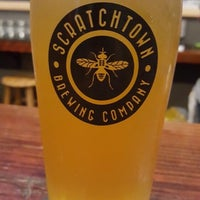 Photo taken at Scratchtown Brewing Company by Monika G. on 10/10/2015
