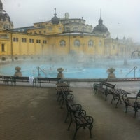 Photo taken at Széchenyi Thermal Bath by Toon M. on 2/7/2013