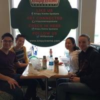 Photo taken at Krispy Kreme Doughnuts by Evelyn P. on 9/7/2015