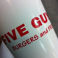 Photo taken at Five Guys by Rob R. on 3/3/2013