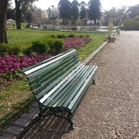 Photo taken at Parque Centenario by Nicolas W. on 9/2/2013