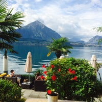 Photo taken at Wellness- & Spa-Hotel Beatus by Naif A. on 8/29/2014