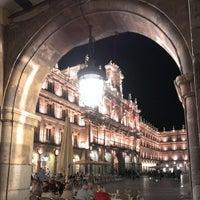 Photo taken at Plaza Mayor by Davididis De Ecclesius on 10/9/2013