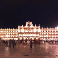 Photo taken at Plaza Mayor by Davididis De Ecclesius on 4/12/2013