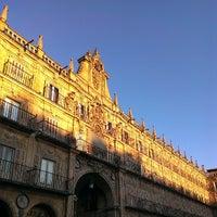 Photo taken at Plaza Mayor by Davididis De Ecclesius on 6/19/2013