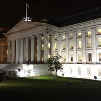 Photo taken at US Department of the Treasury by [Princess] on 11/19/2012
