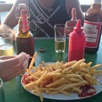 Photo taken at Kangurú Pub by Hector V. on 3/1/2014
