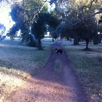 Photo taken at Victoria Park by Meg D. on 11/10/2013