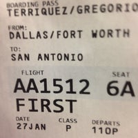 Photo taken at Gate C10 by Aliza T. on 1/27/2014