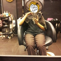 Photo taken at Jun Hair & Beauty, PKNS by Belle N. on 11/23/2012