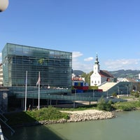 Photo taken at Ars Electronica Center by hbsm on 9/5/2013