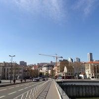 Photo taken at Pont de Puteaux by Grébert C. on 4/20/2013