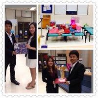 Photo taken at Bangkok Bank by Nirun B. on 12/25/2013