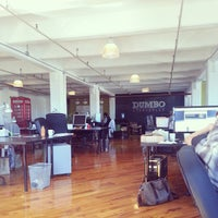 Photo taken at DUMBO Startup Lab by Brand T. on 9/24/2013