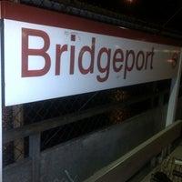 Photo taken at Bridgeport Train Station (BRP) - Metro North & Amtrak by Cait C. on 10/15/2012