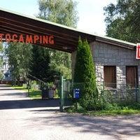 Photo taken at Autokemp Liberec by Jerry T. on 8/17/2013