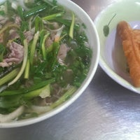 Photo taken at Phở Phú Gia by Oceanic R. on 7/9/2014