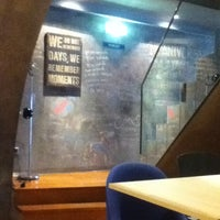 Photo taken at Moustache Coffee House by Jorge M. on 1/4/2013