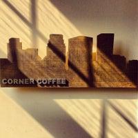 Photo taken at Corner Coffee by Carolyn on 3/8/2013