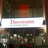 Photo taken at Dussmann das KulturKaufhaus by Dennis S. on 10/18/2012