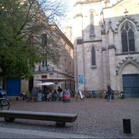 Photo taken at Place Saint-Pierre by Béatrice Z. on 4/15/2013