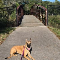 Photo taken at Joe's Creek Greenway Park by Mo E. on 11/26/2015