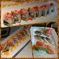 Photo taken at Domo Japanese Restaurant & Sushi Bar by Eaton B. on 5/5/2013
