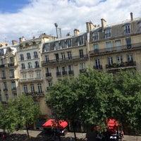 Photo taken at Best Western Hôtel Elysées Paris by Abdallah A. on 8/16/2014
