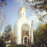 Photo taken at Кафедральный Собор Христа Спасителя by Nikita V. on 9/25/2012