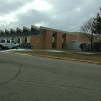 Photo taken at Owosso High School by Stacy K. on 2/16/2013