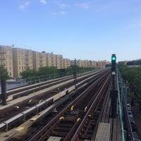 Photo taken at MTA Subway - Pelham Parkway (2/5) by Eugene K. on 5/30/2015